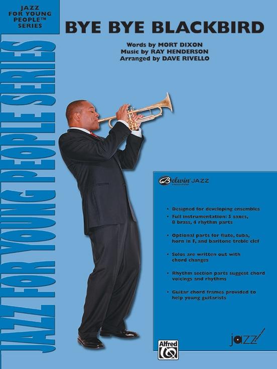 Bye Bye Blackbird Jazz Ensemble Conductor Score Parts Ray Henderson