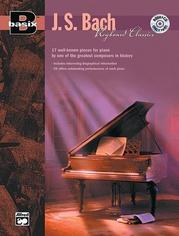 Basix®: Keyboard Classics: J. S Bach