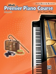 Premier Piano Course, Jazz, Rags & Blues 4