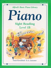 Alfred's Basic Piano Library: Sight Reading Book 1B
