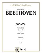 Sonatas (Urtext), Volume I