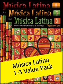 Música Latina Books 1-3 (Value Pack)