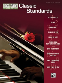 10 for 10 Sheet Music: Classic Standards