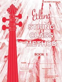 Etling String Class Method, Book 1
