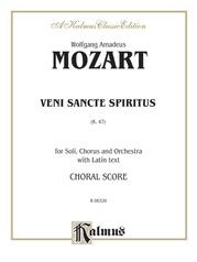 Veni Sancte Spiritus, K. 47