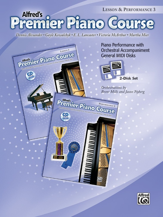 Premier Piano Course, GM Disk 3 for Lesson and Performance