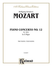 Piano Concerto No. 12 in A Major, K. 414