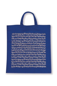Tote Bag: Sheet Music (Blue)