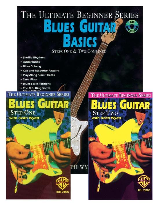 Ultimate Beginner Series Mega Pak: Blues Guitar Basics Mega Pak