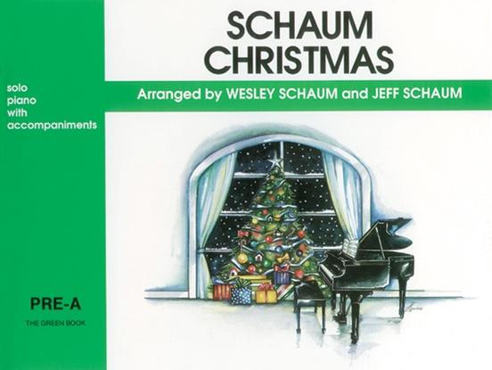 Schaum Christmas, Pre-A: The Green Book