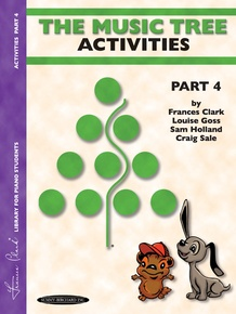 The Music Tree: Activities Book, Part 4