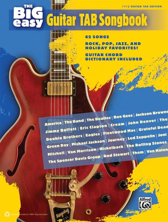 The Big Easy Guitar TAB Songbook
