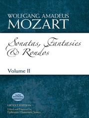 Sonatas, Fantasies, and Rondos Urtext Edition: Volume II