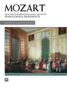 Mozart, Selected Intermediate to Early Advanced Piano Sonata Movements