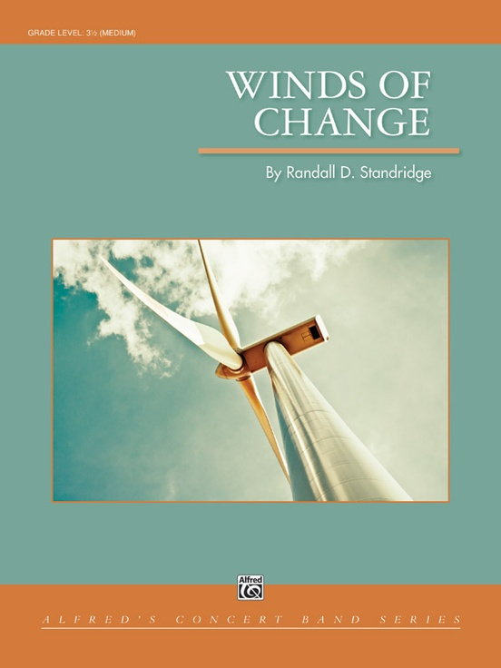 Winds Of Change Concert Band Conductor Score Parts Randall D