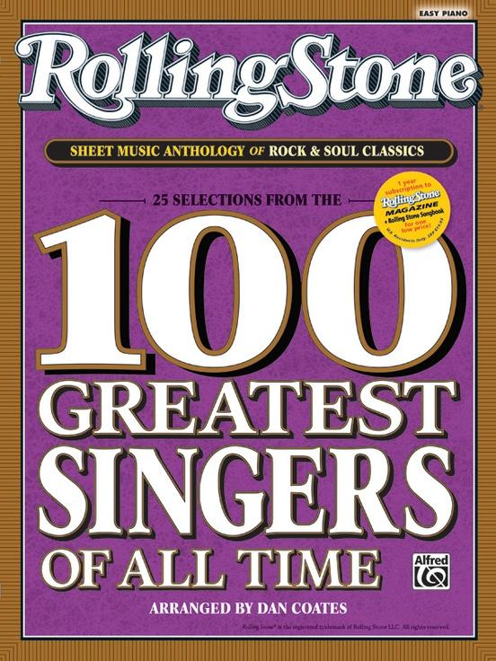 Rolling Stone® Sheet Music Anthology of Rock & Soul Classics