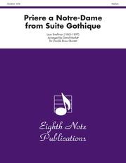 Priere a Notre-Dame (from Suite Gothique)
