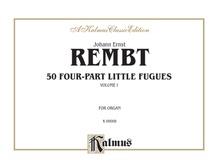 50 Four-Part Little Fugues, Volume I