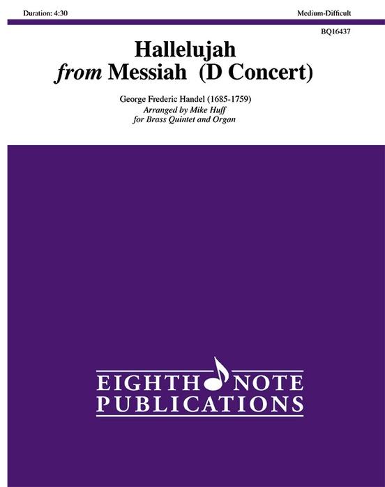 Hallelujah from Messiah (D Concert)