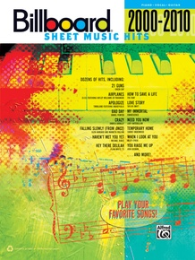 Billboard Sheet Music Hits 2000--2010