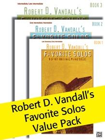 Robert D. Vandall's Favorite Solos, Books 1-3 (Value Pack)
