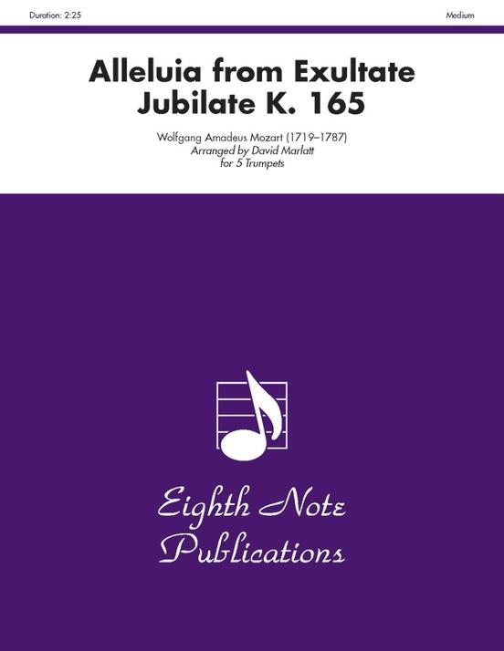 Alleluia (from Exultate Jubilate, K. 165)