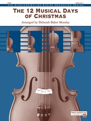 The 12 Musical Days of Christmas