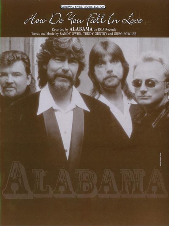 How Do You Fall In Love Pianovocalchords Sheet Alabama
