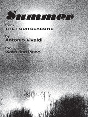The Four Seasons: Summer