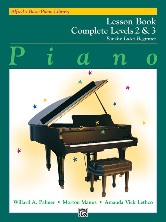 Alfred's Basic Piano Library: Lesson Book Complete 2 & 3