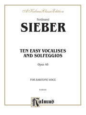 Ten Easy Vocalises and Solfeggios (Opus 48)