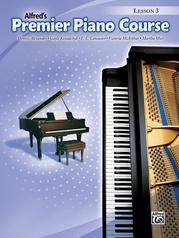 Premier Piano Course, Lesson 3