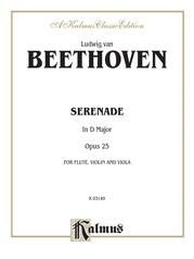 Serenade, Opus 25