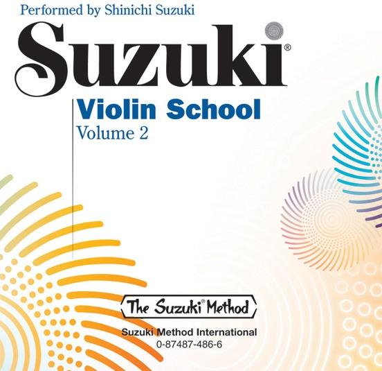 Suzuki Violin School CD, Volume 2