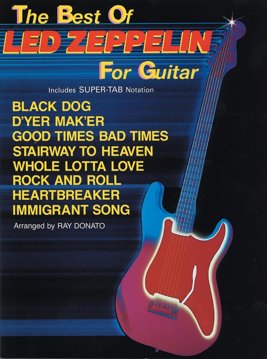 The Best of Led Zeppelin for Guitar