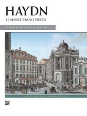 Haydn, 12 Short Piano Pieces