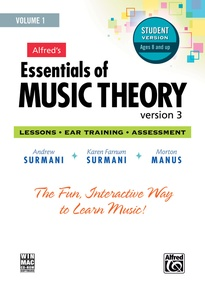 Alfred's Essentials of Music Theory: Software, Version 3 CD-ROM Student Version, Volume 1