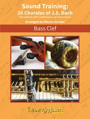 Sound Training: 26 Chorales of J.S. Bach, Bass Clef