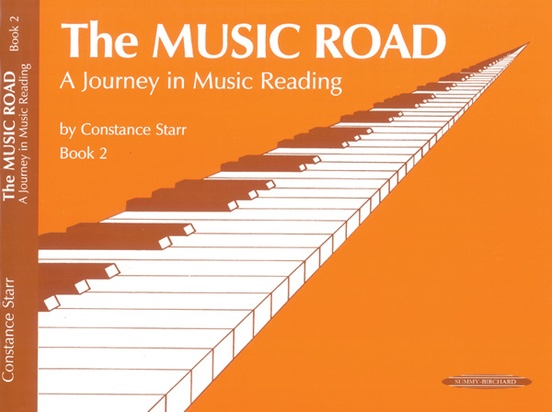 The Music Road: A Journey in Music Reading, Book 2
