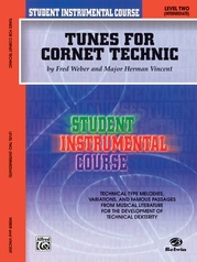 Student Instrumental Course: Tunes for Cornet Technic, Level II