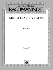 The Piano Works of Rachmaninoff, Volume IV: Miscellaneous Pieces