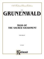 Mass of the Sacred Sacrament