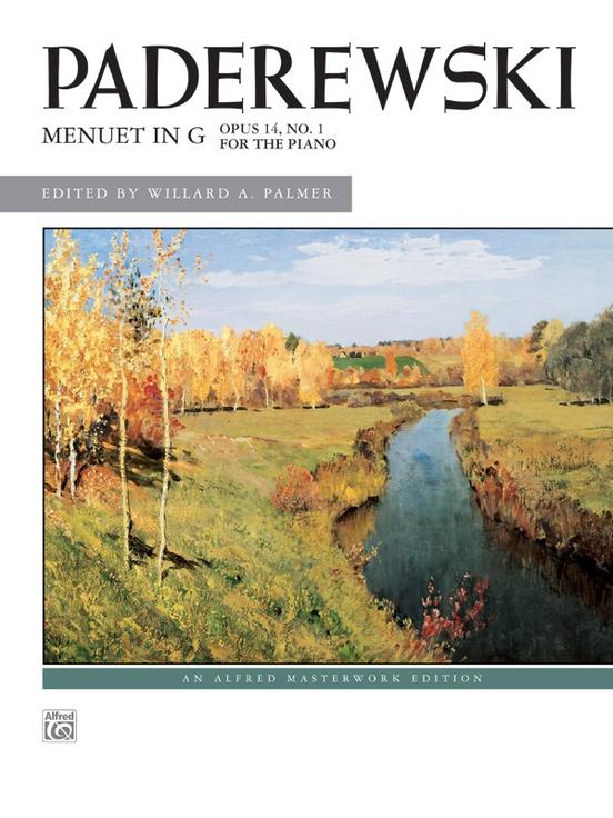 Paderewski: Menuet in G, Opus 14, No. 1