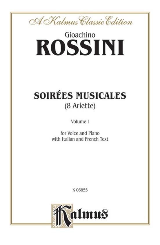 Soirées Musicales, Volume I, Nos. 1-8 (8 Ariette)