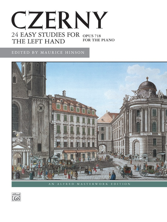 Czerny: 24 Studies for the Left Hand, Opus 718
