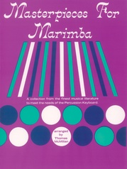 Masterpieces for Marimba