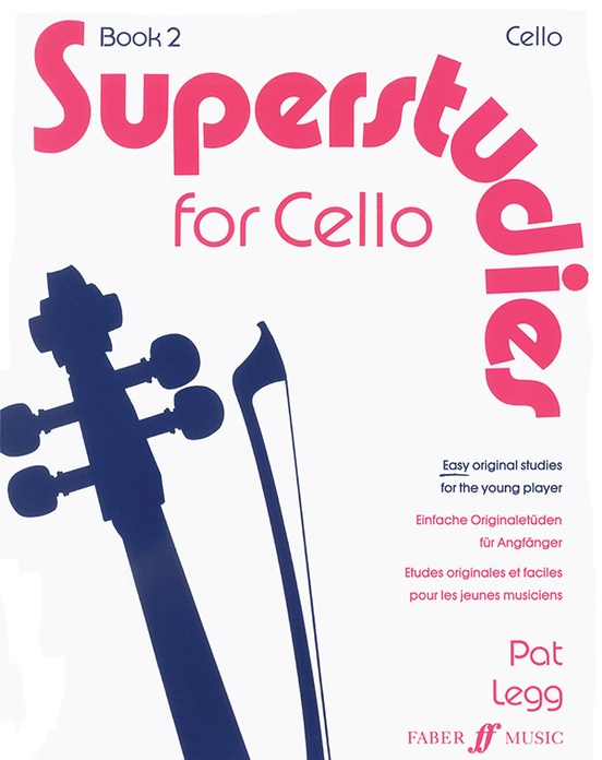 Superstudies for Cello, Book 2