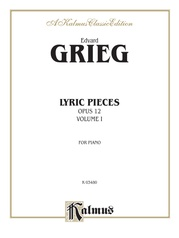 Lyric Pieces, Opus 12