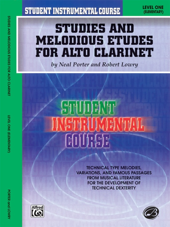 Student Instrumental Course: Studies and Melodious Etudes for Alto Clarinet, Level II