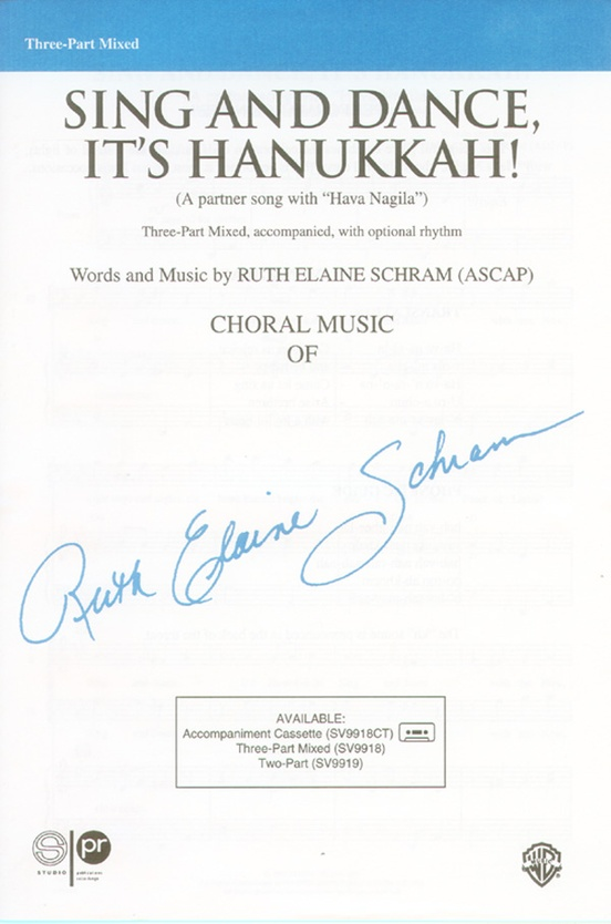 Sing and Dance, It's Hanukkah!